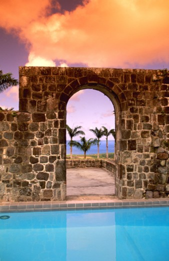 Ottley's Plantation, St. Kitts : Stock Photo