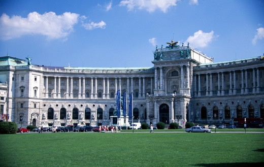 Imperial Palace, Vienna, Austria : Stock Photo