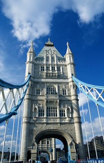 Stock Photo: 1555R-160062 Tower Bridge, London, England