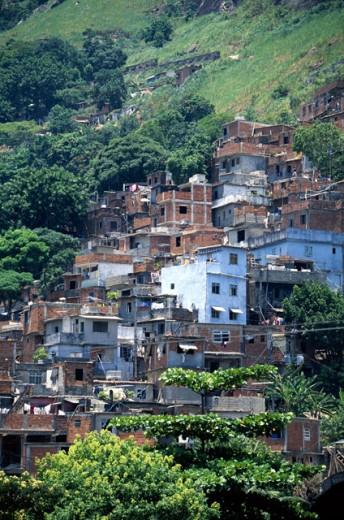 Favellas, Rio de Janeiro, Brazil : Stock Photo