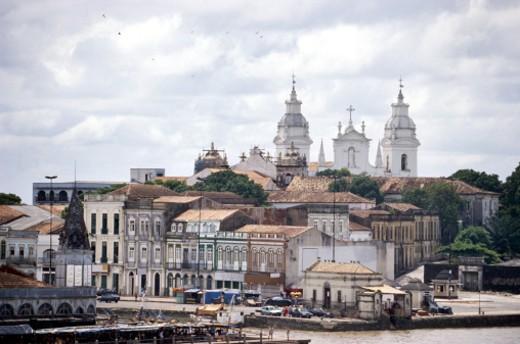 Cathedral da Se Nossa Senhora, Brazil : Stock Photo