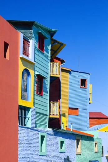Caminitas la Boca District, Buenos Aires, Argentina : Stock Photo
