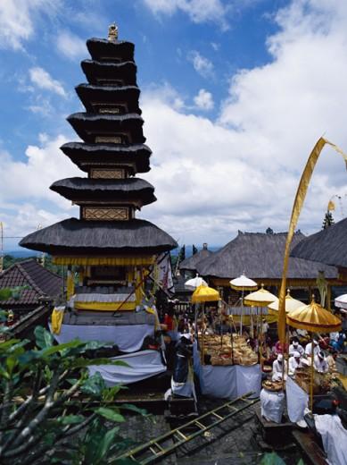 Pura Besakih, Bali, Indonesia : Stock Photo