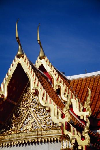 Wat Benchamabophit, Bangkok, Thailand : Stock Photo