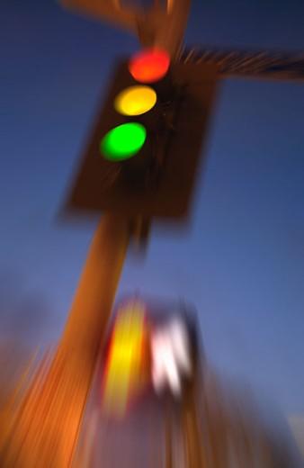 Traffic light : Stock Photo
