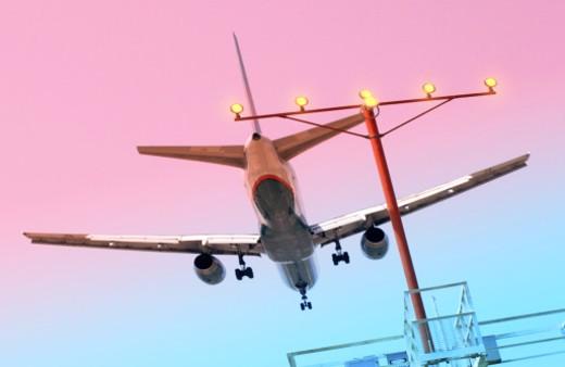 Stock Photo: 1555R-195018 Airplane