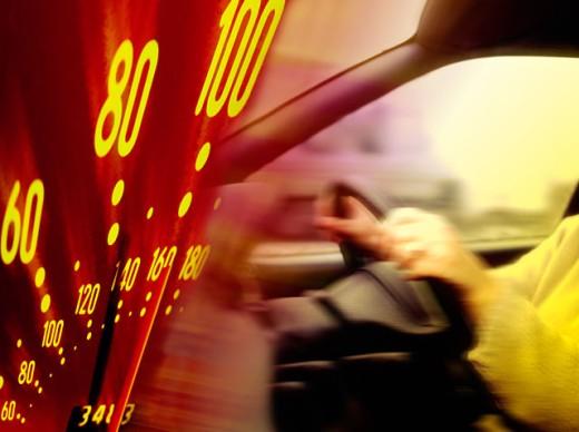 Speeding : Stock Photo