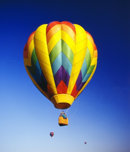 Stock Photo: 1555R-195098 Hot air balloon