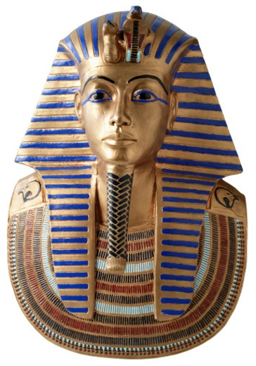 Stock Photo: 1555R-203091 King Tut's burial mask