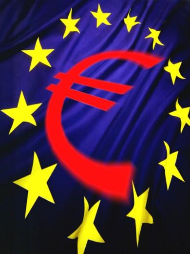 Stock Photo: 1555R-2065 Flag of European Economic Community