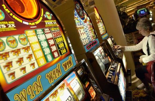 Slot machines : Stock Photo