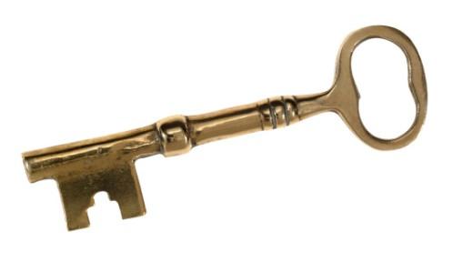 Stock Photo: 1555R-22010 Skeleton key