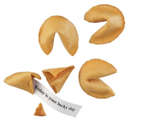 Stock Photo: 1555R-23073 Fortune cookies