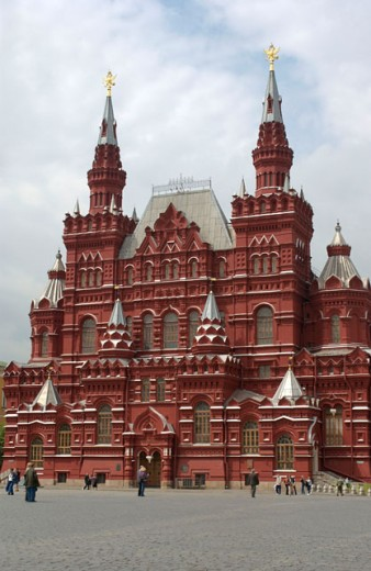 Stock Photo: 1555R-232062 St. Basils Cathedral in Red Square, Kremlin, Russia