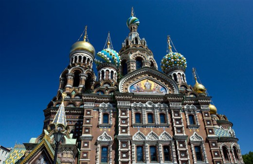 St Petersburg church, Russia : Stock Photo