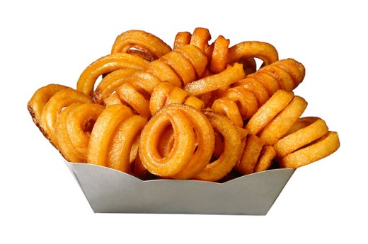 Curly fries : Stock Photo