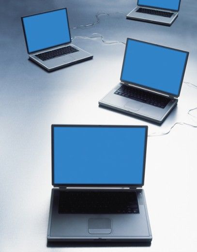Stock Photo: 1555R-242024 Laptop computers