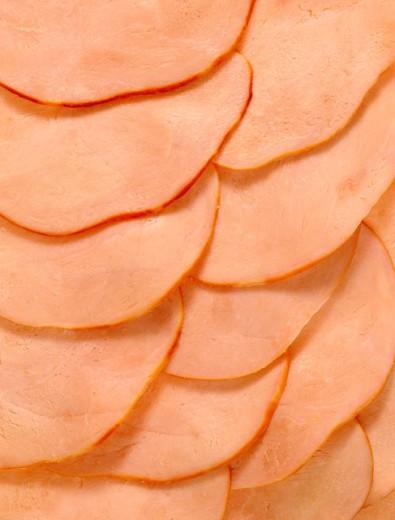 Stock Photo: 1555R-25052 Sliced turkey