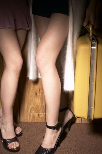 Legs of women : Stock Photo