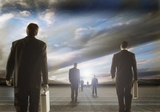 Business goals : Stock Photo