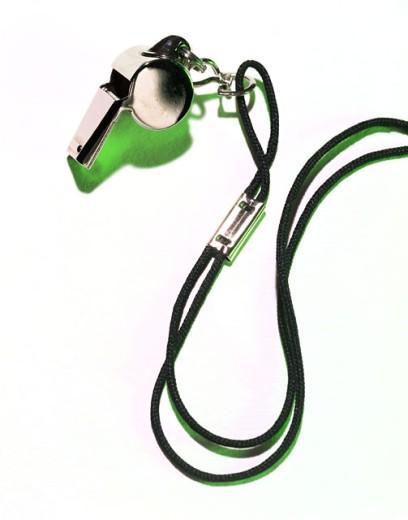 Stock Photo: 1555R-281020 Whistle