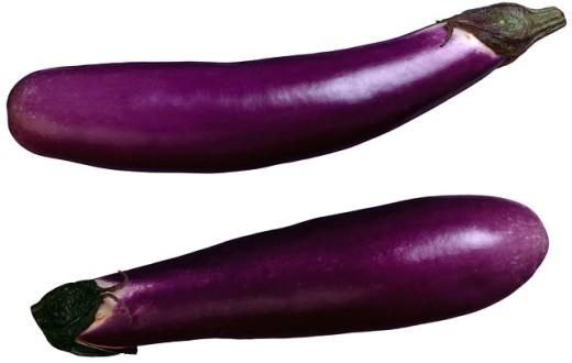 Eggplants : Stock Photo
