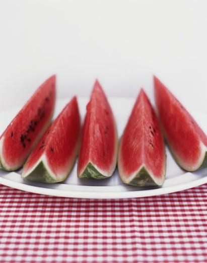 Watermelon Slices : Stock Photo