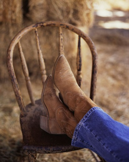 Cowgirl Boots : Stock Photo