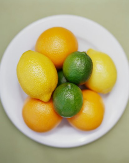 Citrus Assortment : Stock Photo