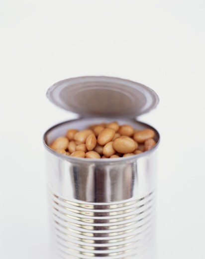 Can of Beans : Stock Photo