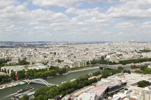 Stock Photo: 1555R-305942 Champ de Mars, Paris, France