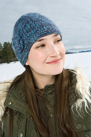 Stock Photo: 1555R-314120 Portrait of woman in winter attire