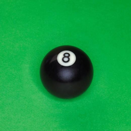 Eight ball : Stock Photo