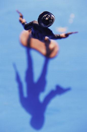 Cowboy figurine : Stock Photo