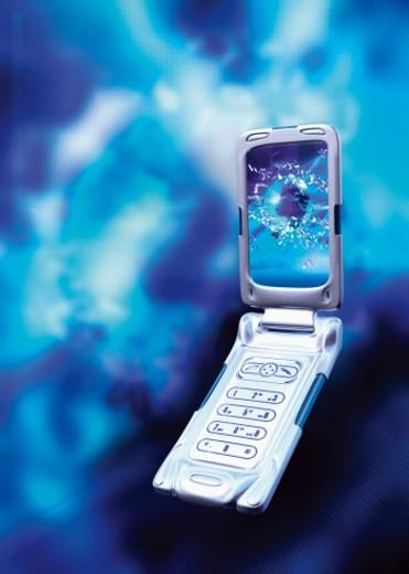 Stock Photo: 1555R-320766 Cellular phone