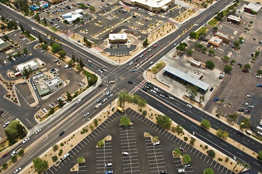Peoria and 67th Ave, Peoria, Arizona : Stock Photo