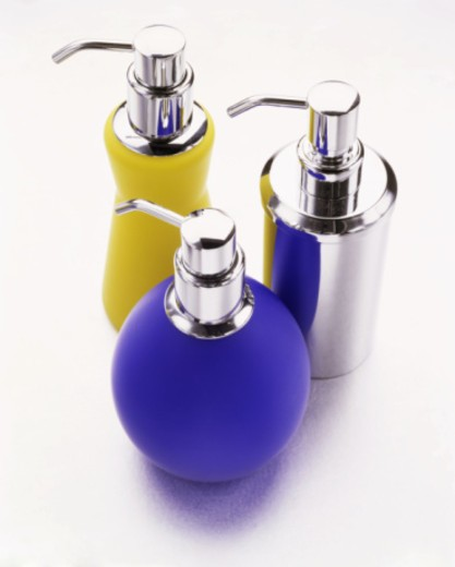 Stock Photo: 1555R-334676 Decorative liquid dispensers