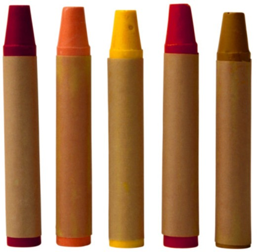 Stock Photo: 1555R-335809 Crayons