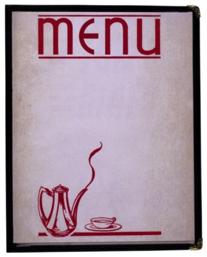 Restaurant menu : Stock Photo