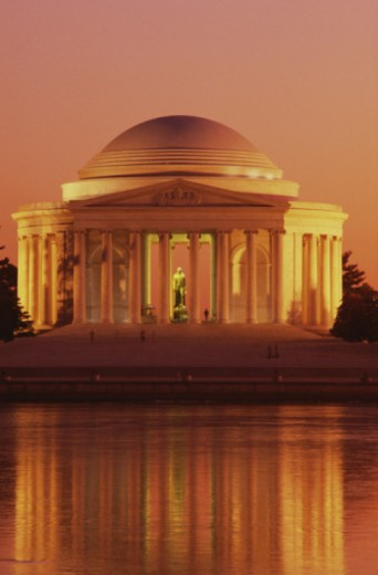 Stock Photo: 1555R-338376 Jefferson Memorial, Washington, D.C.