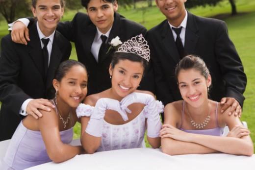 Stock Photo: 1555R-340904 Portrait of friends