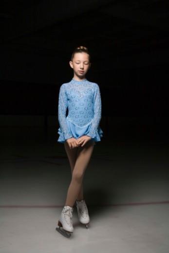 Figure skater : Stock Photo