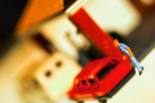 Stock Photo: 1555R-35054 Miniature toys