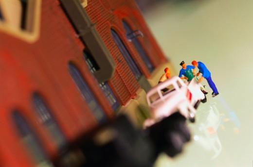 Miniature toys : Stock Photo