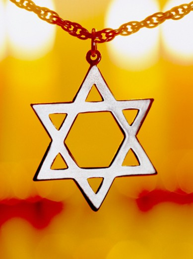 Stock Photo: 1555R-5033 Star of David pendant