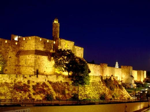Biblical city of David : Stock Photo