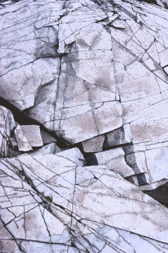Cracked rock : Stock Photo
