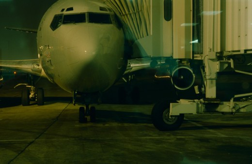 Stock Photo: 1555R-66084 Airplane in airport
