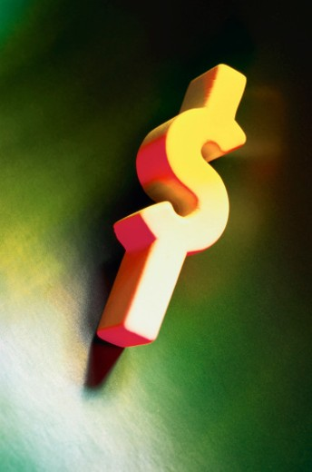 Dollar sign : Stock Photo