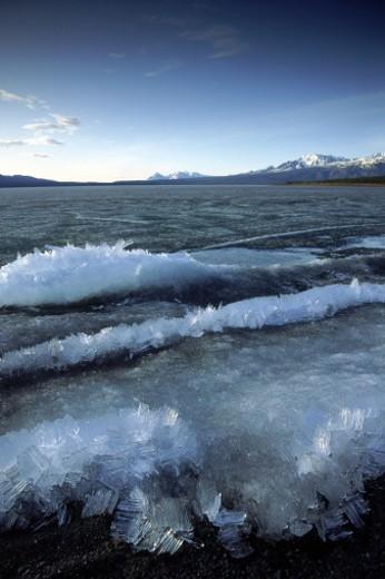 Stock Photo: 1555R-98015 Icy seascape